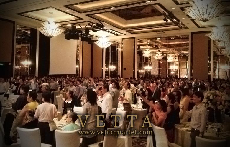 Quartet Singapore - Wedding Music St Regis
