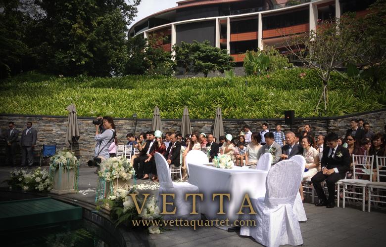 Capella Wedding Music Quartet - Strings performance