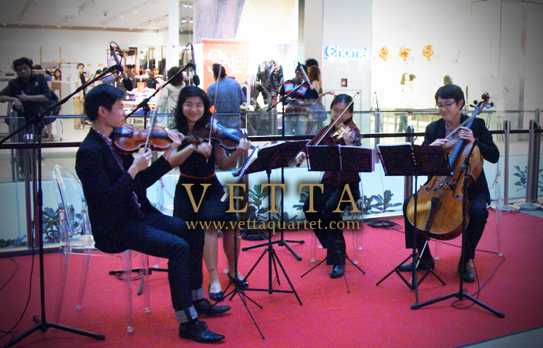 Music Quartet Singapore - JEM Xmas Performance