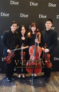 Music National Museum - Dior private event - Quartet performance