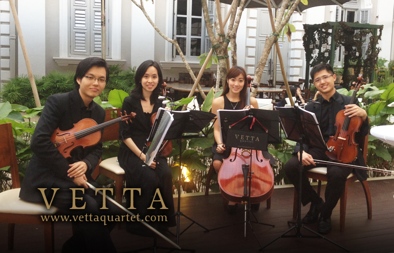 Music at National Museum - String quartet private event Dior