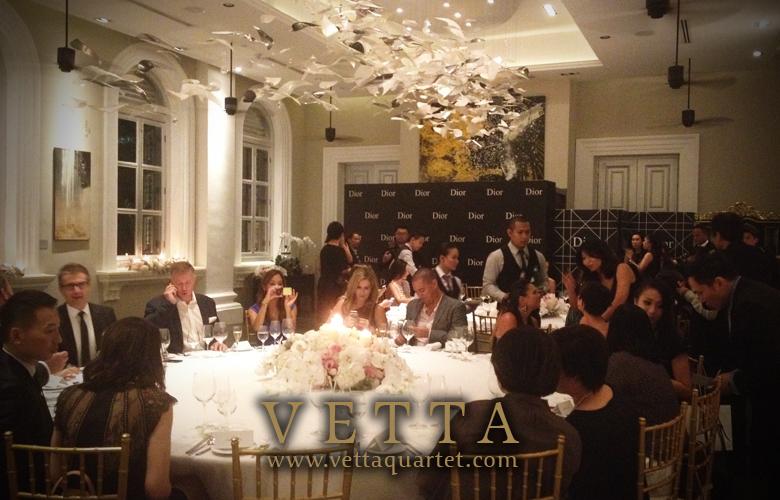 Private event National Museum - Dior - Singapore String Quartet