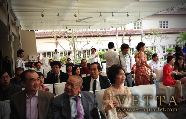 Wedding at Goodwood park - String Quartet Music Performance