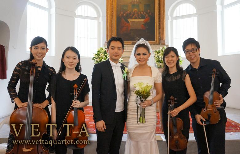 Wedding Solemnisation at Armenian Church