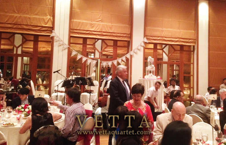 Wedding Anniversary Dinner Performance - Singapore Quartet - Sentosa Resort Spa Music