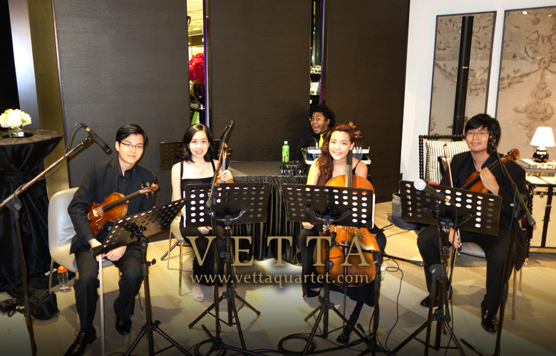 String Quartet at Ion Orchard