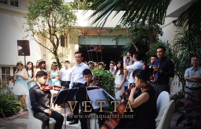 Chung Sheng & Verene Wedding at Goodwood Park