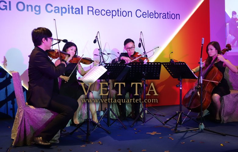 Celebration of KGI Ong Capital at Fullerton Hotel