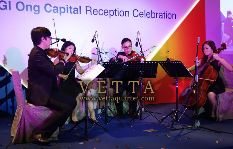 Celebration of KGI Ong Capital at Fullerton Hotel