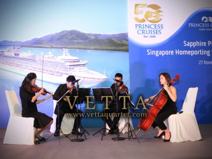Sapphire Princess, Singapore Homeporting Launch at Westin Hotel