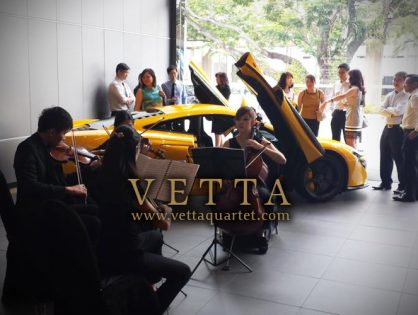 Forte Development Event at McLaren Showroom Singapore