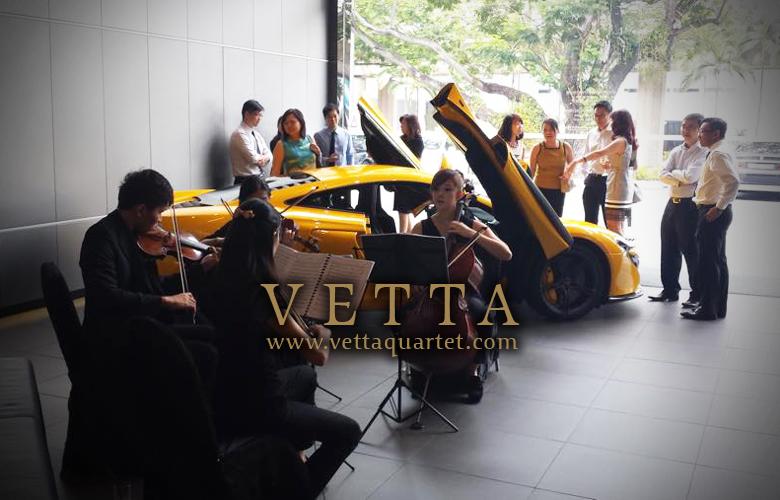 Forte Development Event at McLaren Showroom Singapore