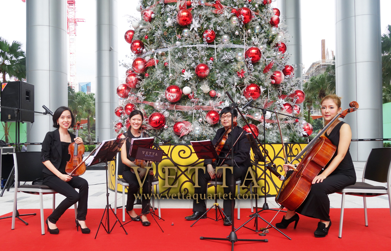 Christmas Celebration at MapleTree Business City