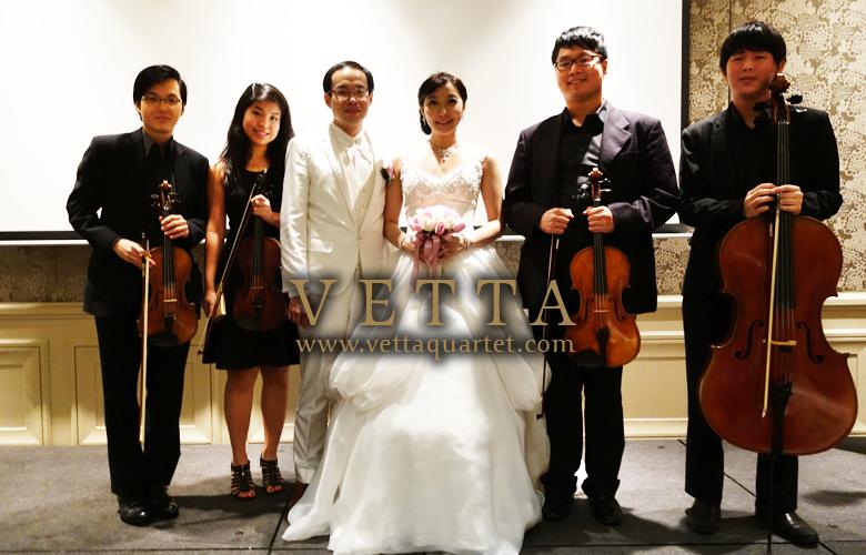 Ricksen &  Marissa Wedding at Garden Suite in Mandarin Oriental Singapore