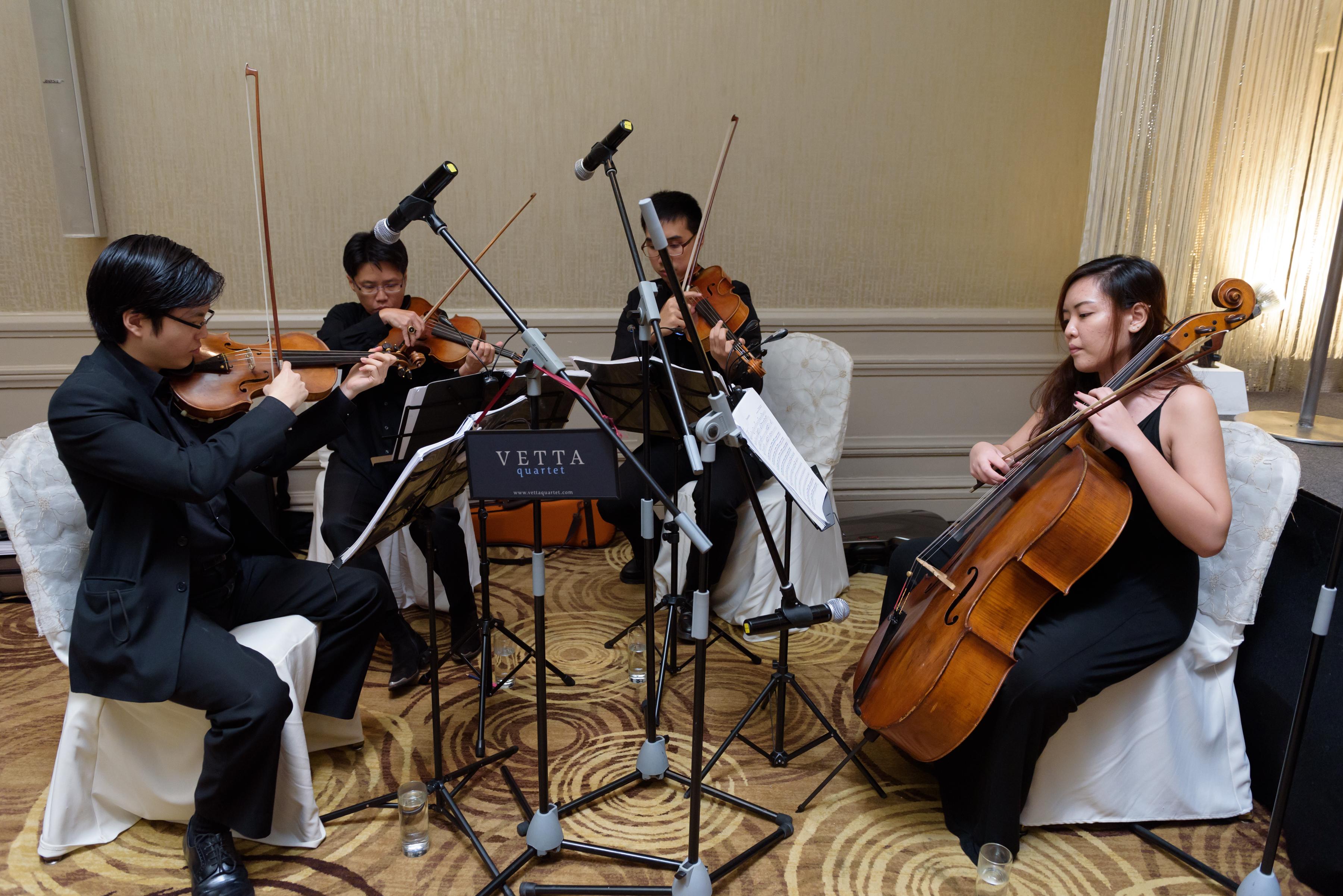 Live Performance for Wedding at Mandarin Oriental Hotel