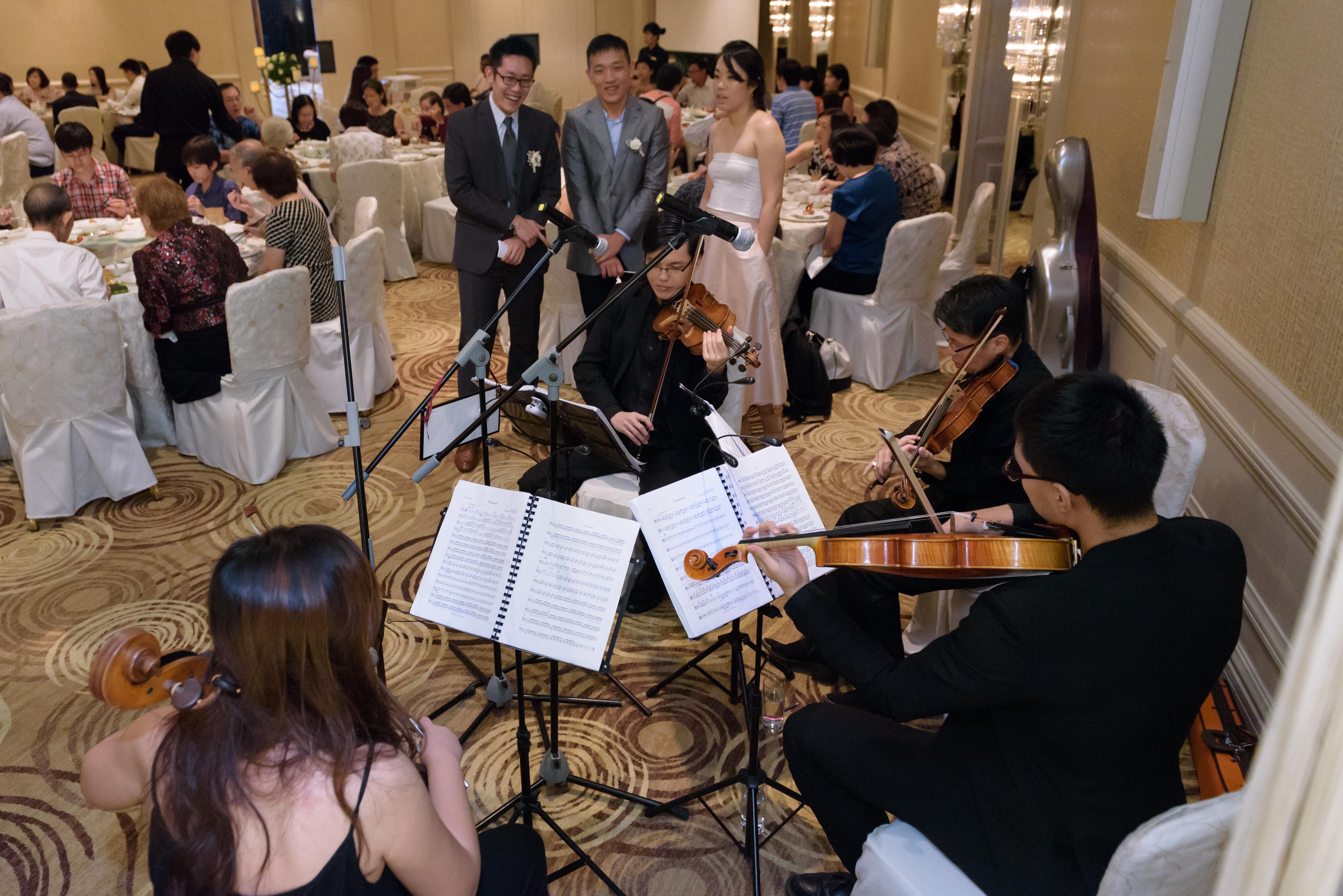 Beautiful Music for Wedding at Mandarin Oriental Hotel
