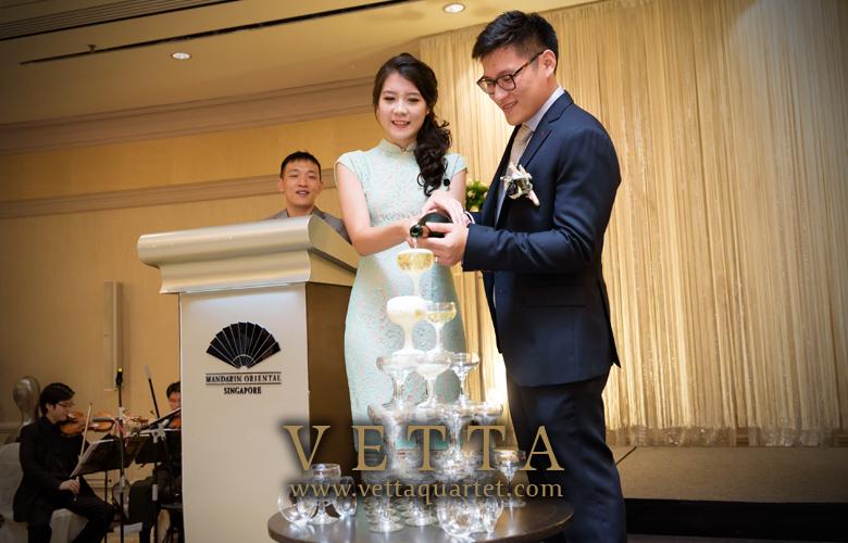 String Quartet for Wedding at Mandarin Oriental Hotel