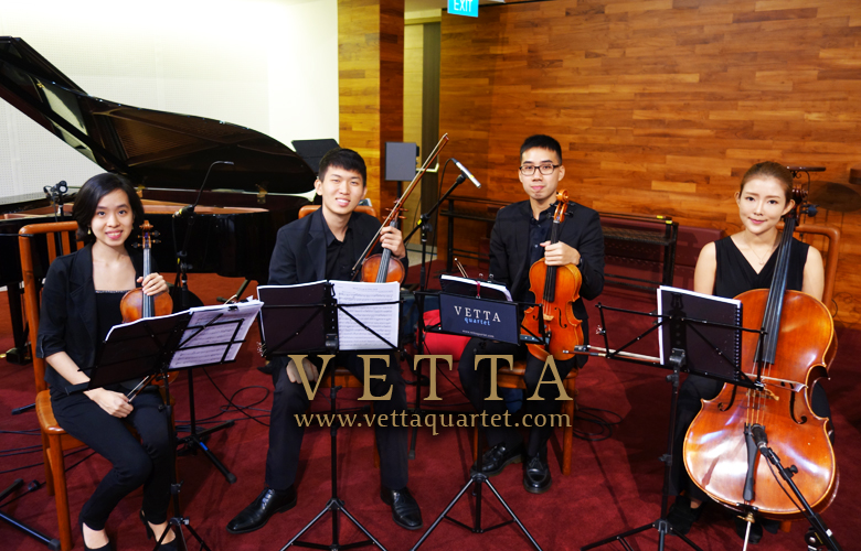 String Quartet for Wedding at Toa Payoh Methodist Church