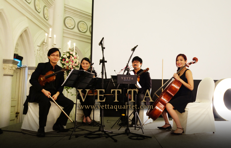 Live Band for Wedding at Chijmes Hall