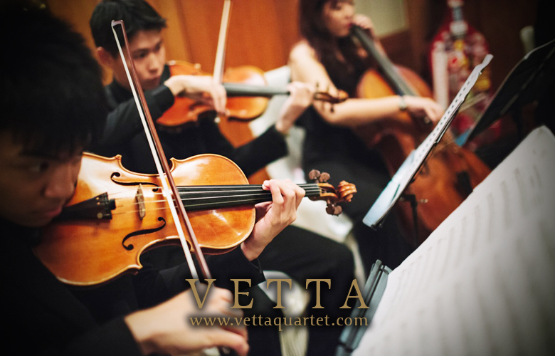 String Quartet for Wedding at Four Seasons Hotel