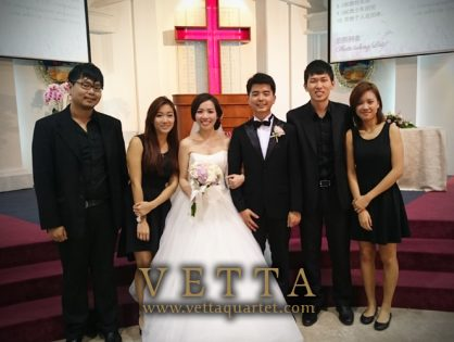 Edmund and Joanna's Wedding at Changi Bethany Church
