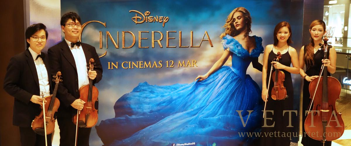 Disney's Cinderella Grand Premiere at Marina Bay Sands - The MasterCard Theatres Lobby