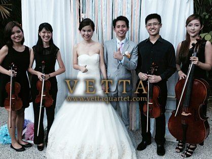 Yen Hao & Shihui Wedding Solemnsation at Raffles Hotel