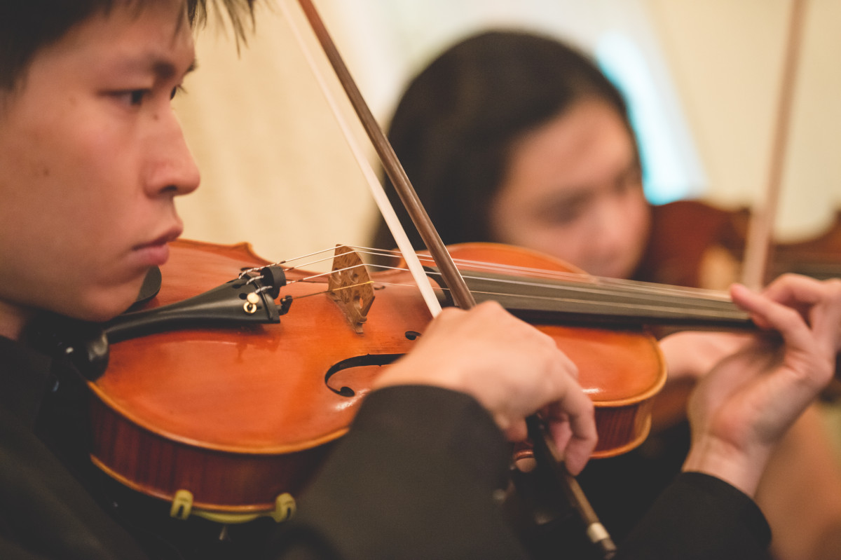 String Quartet for Wedding Banquet at Intercontinental Hotel