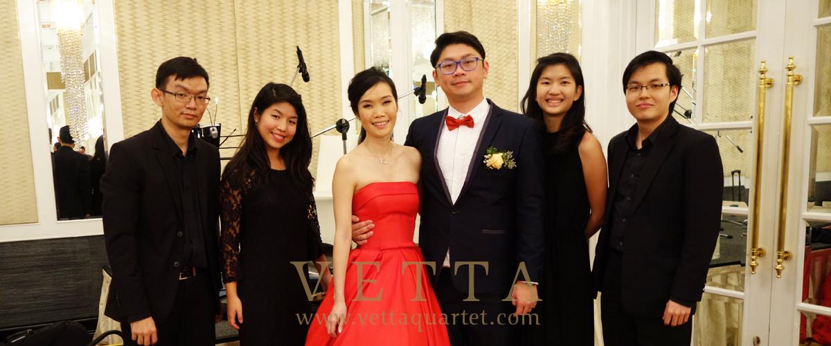 Monica Wedding at Intercontinental Hotel Grand Ballroom