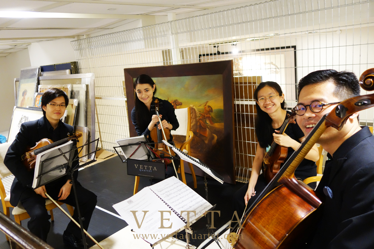 String Quartet for Event at One Pemimpin