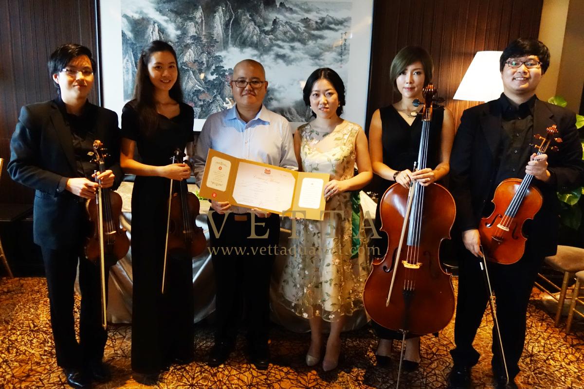 Jason Wedding at Mandarin Orchard - Imperial Ballroom