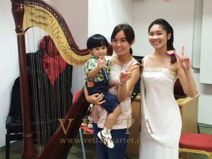 Harp for Wedding Solemnisation at MDIS