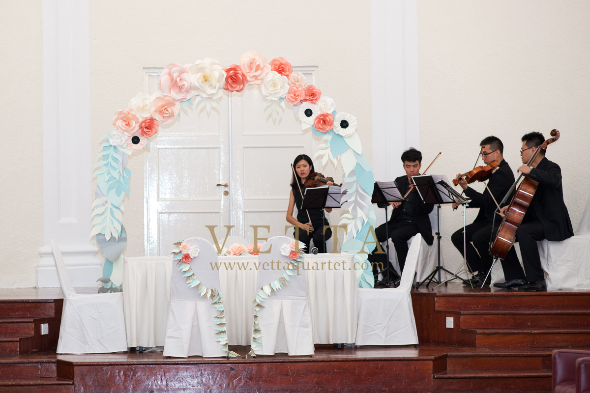 Adeline's Wedding at Arts House, Chamber