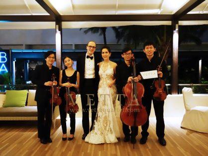 Alexander and Priyanti Wedding at Mandarin Oriental - Dolce Vita Restaurant