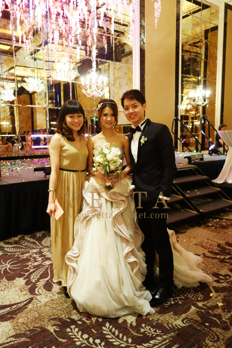 Singapore Wedding Emcee at St Regis - John Jacob Ballroom