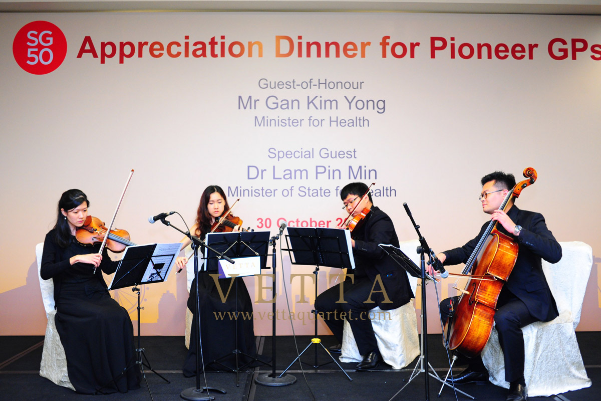 SG50 Appreciation Dinner for Pioneer GPs at Grand Copthorne Waterfront Hotel
