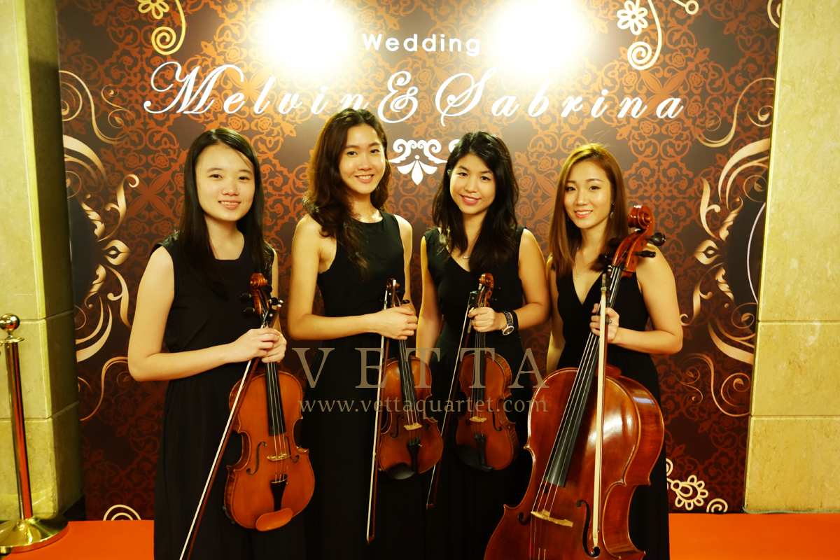 Melvin & Sabrina's Wedding at Shangri-La Hotel