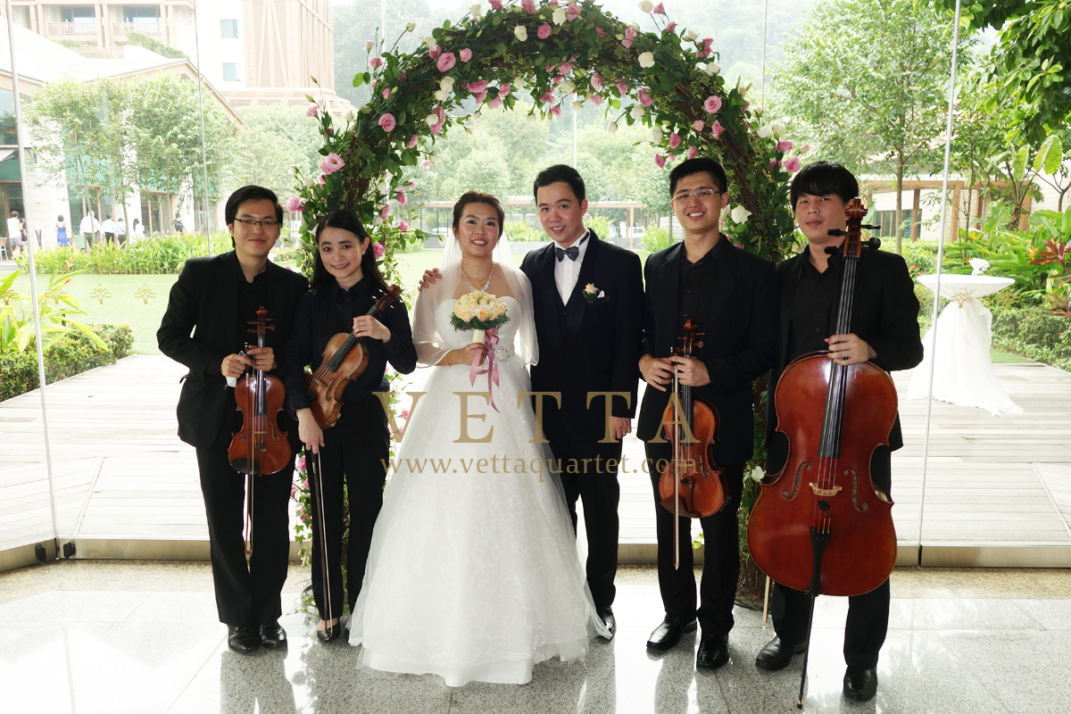 Jared's Wedding at Resorts World Sentosa, Equarius Hotel (Truly Harmony)
