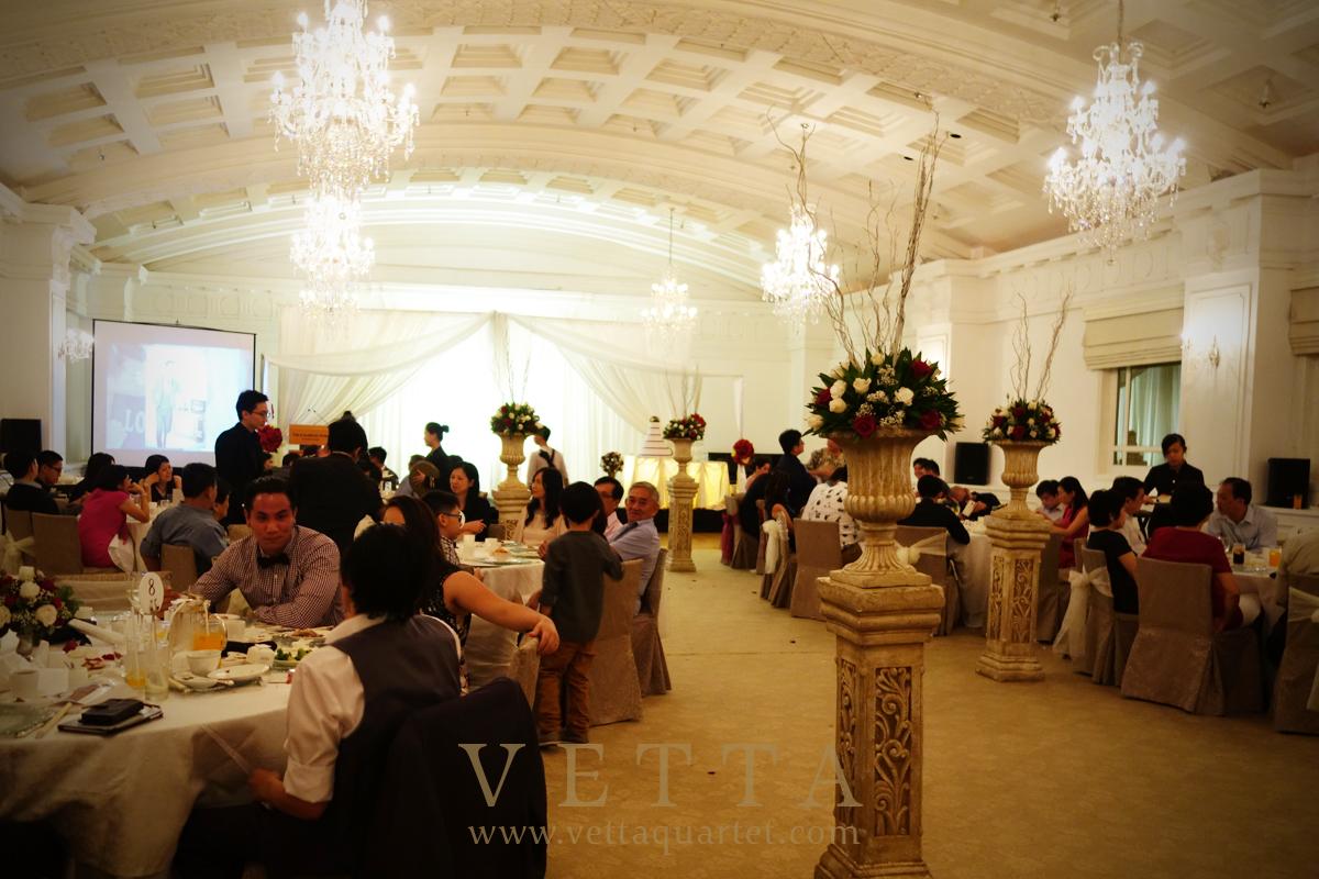 Singapore Wedding At Fullerton Hotel
