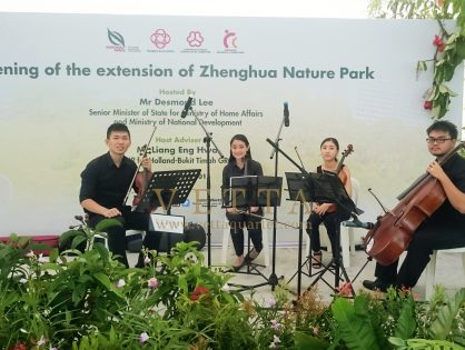 Opening of the Extension of Zhenghua Nature Park