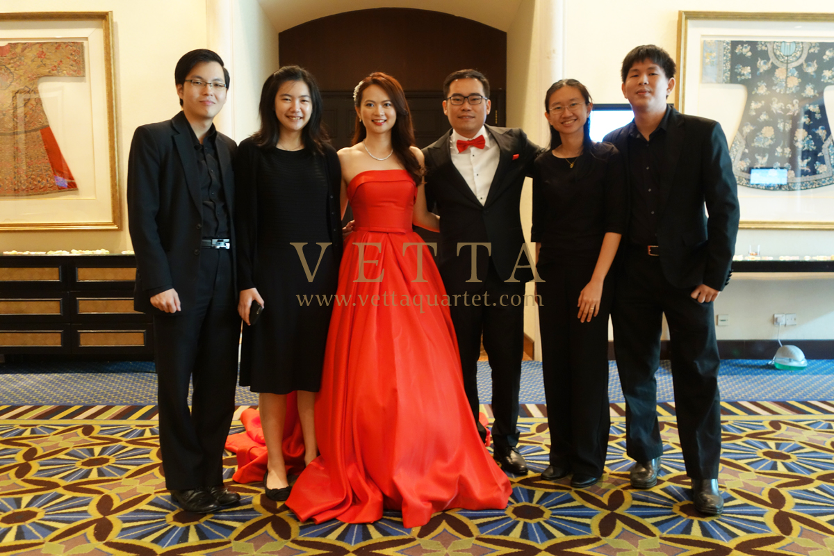 Yu Hang's Wedding at Swissotel Merchant Court