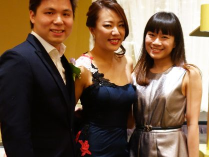 Jake & Jiahui's Wedding at Conrad Centennial Hotel