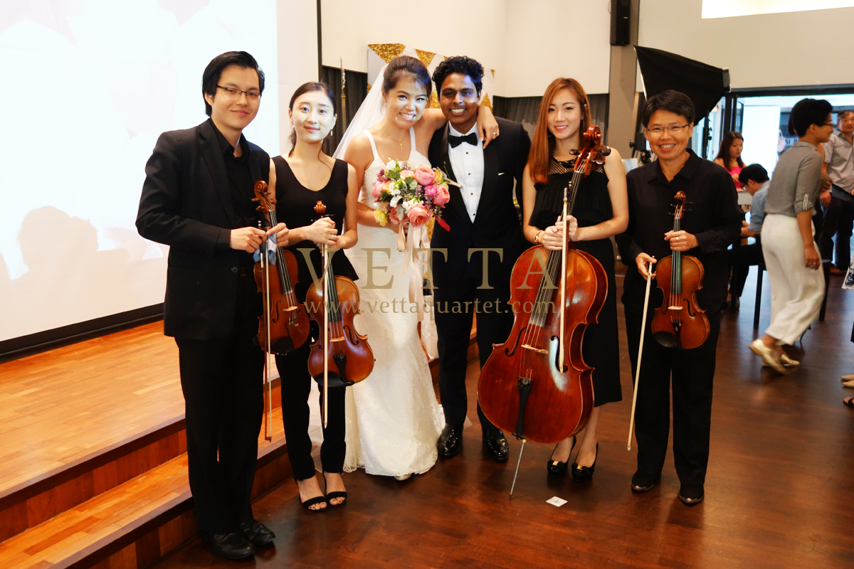 Abraham & Jacqueline's Wedding at Church of St Mary of the Angels
