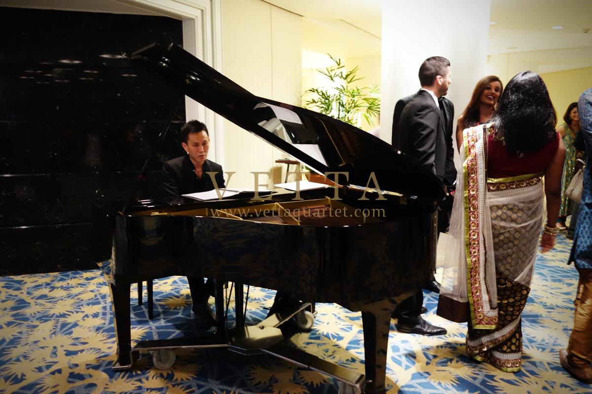 Singapore Wedding at Raffles City Convention Centre, Stamford Ballroom