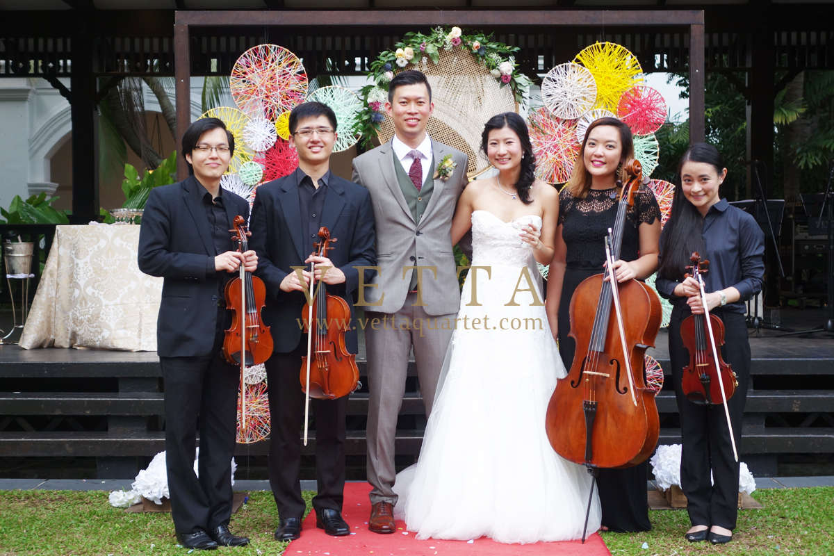 Adrian and Ai Ling's Wedding at Raffles Hotel