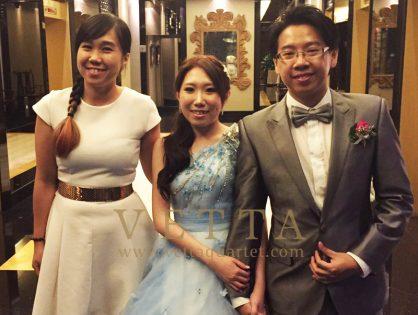 Ethan & Evelyn's Wedding at Mandarin Orchard Hotel