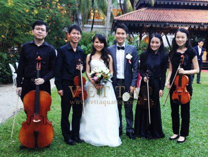 Junming and Amanda's Wedding at Raffles Hotel