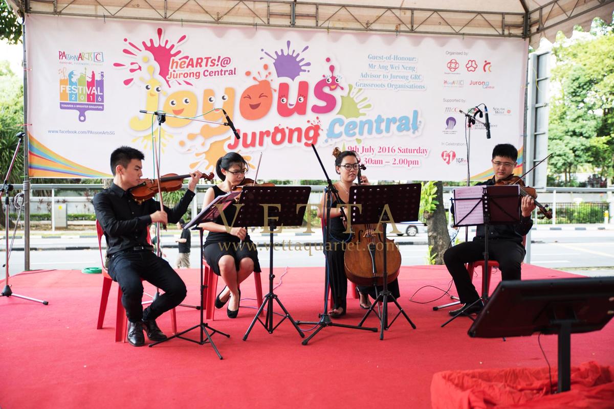 Joyous Jurong Central PassionArts Festival