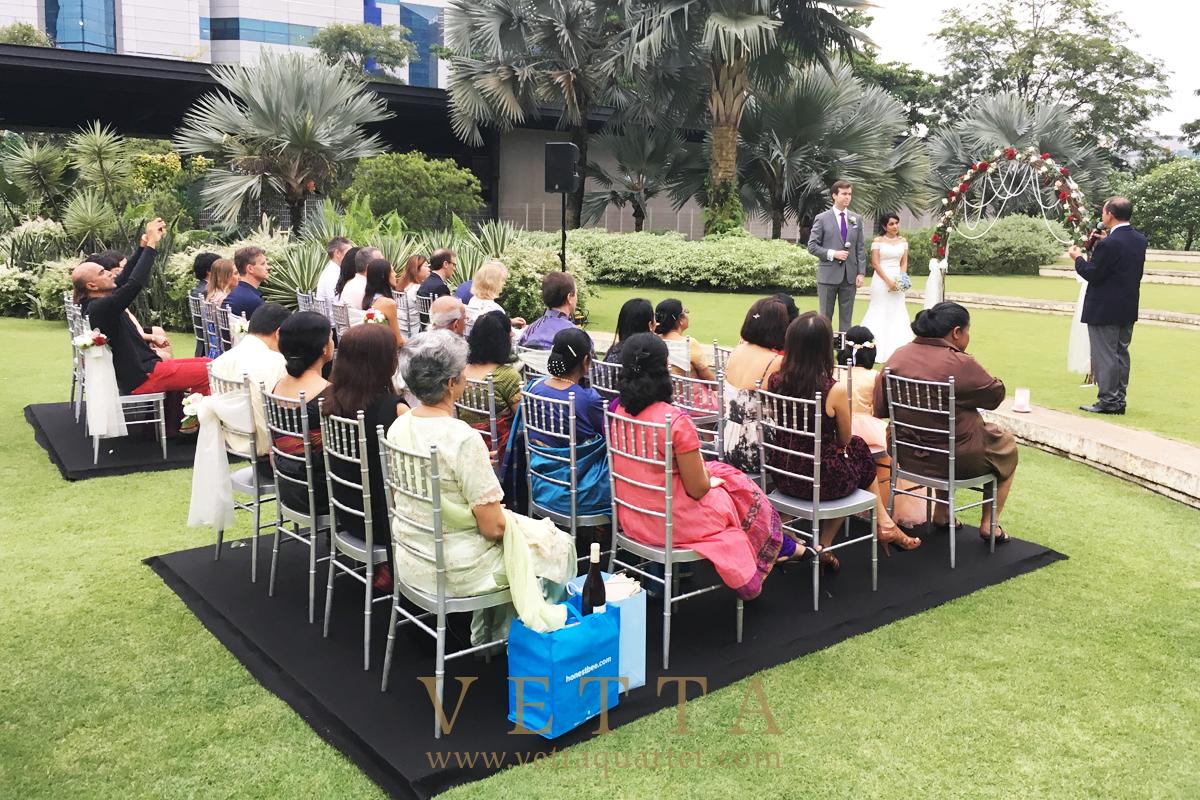 Wedding at Hort Park
