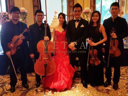 Zan Xuan's Wedding at Four Seasons Hotel